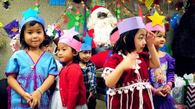 Refugees welcomed at annual Holiday Party