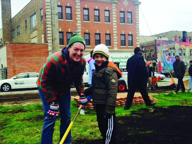 Garden Park volunteers