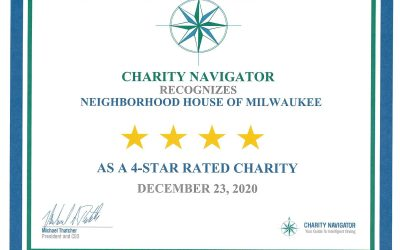 NH is Awarded a 4-Star Rating by Charity Navigator